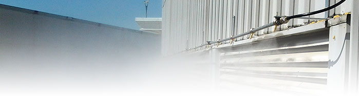 Ac Misting System : Pre cooling the misting company commerical industrial